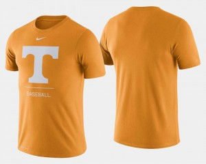 For Men Dugout Performance Tennessee Orange Tennessee Vols College T-Shirt Baseball