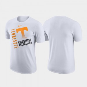 Vols Performance Cotton White For Men's Just Do It College T-Shirt