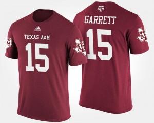 Myles Garrett College T-Shirt Aggie #15 Men's Maroon