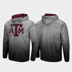 College Hoodie Sitwell Sublimated Mens Pullover Heathered Gray Aggie