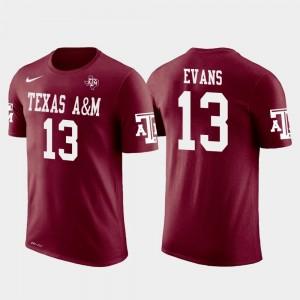Future Stars For Men Crimson Tampa Bay Buccaneers Football Aggies #13 Mike Evans College T-Shirt