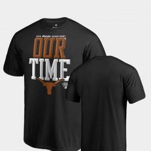 Texas Longhorns Mens Black Counter Big & Tall College T-Shirt 2019 Sugar Bowl Bound
