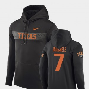 Football Performance Sideline Seismic For Men Anthracite Shane Buechele College Hoodie University of Texas #7