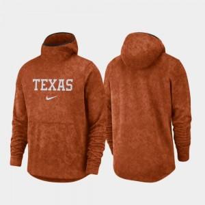 UT Basketball Team Logo Pullover For Men's Texas Orange Spotlight College Hoodie
