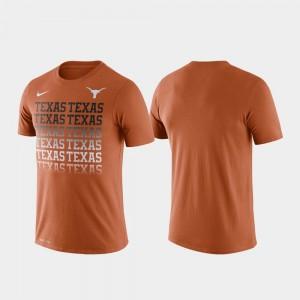 UT Performance Fade Texas Orange Mens College T-Shirt