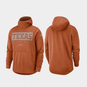 Texas Longhorns Texas Orange Spotlight Basketball Men College Hoodie
