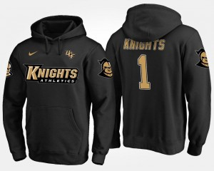 College Hoodie For Men University of Central Florida #1 Black No.1