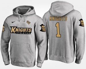 Gray Knights College Hoodie Mens #1 No.1