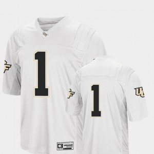 Colosseum UCF Football White Men's #1 College Jersey