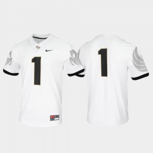 UCF Untouchable #1 White College Jersey Men Game