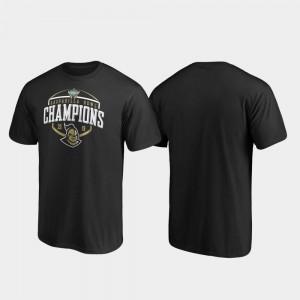 2019 Gasparilla Bowl Champions College T-Shirt Corner UCF Black Mens