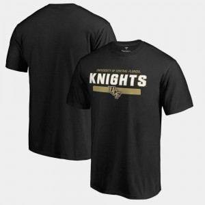 College T-Shirt Black Team Strong University of Central Florida Mens