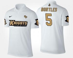 White Knights #5 For Men's Blake Bortles College Polo