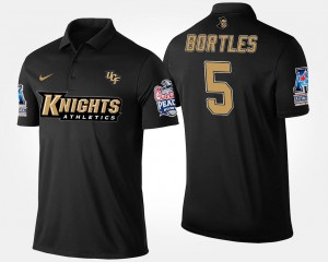 American Athletic Conference Peach Bowl #5 UCF Knights Navy For Men Bowl Game Blake Bortles College Polo