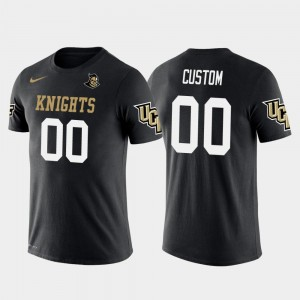 UCF Knights College Customized T-Shirts Future Stars Black For Men #00 Cotton Football