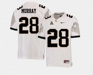 Football Latavius Murray College Jersey #28 American Athletic Conference White UCF For Men's