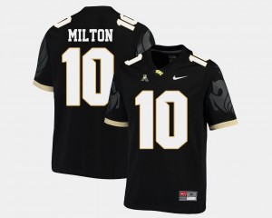 UCF Knights Mckenzie Milton College Jersey Mens #10 Black Football American Athletic Conference
