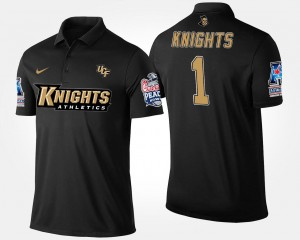 Navy No.1 American Athletic Conference Peach Bowl For Men College Polo UCF #1 Bowl Game