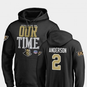 #2 Counter 2019 Fiesta Bowl Bound For Men's Otis Anderson College Hoodie Black Knights