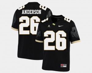 Men's American Athletic Conference Knights #26 Football Otis Anderson College Jersey Black