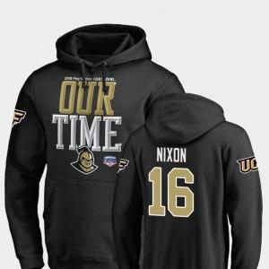 Counter #16 UCF Knights 2019 Fiesta Bowl Bound Tre Nixon College Hoodie For Men's Black
