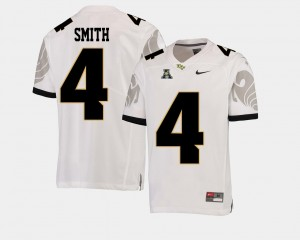 Tre'Quan Smith College Jersey For Men's #4 White University of Central Florida American Athletic Conference Football