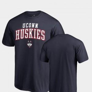Square Up Connecticut Navy College T-Shirt Men's