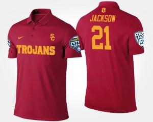 For Men Cardinal Bowl Game Pac-12 Conference Cotton Bowl #21 Adoree' Jackson College Polo Trojans