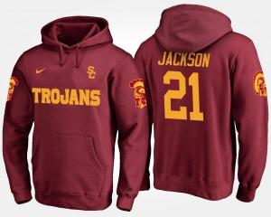 Adoree' Jackson College Hoodie Cardinal Trojans Men's #21
