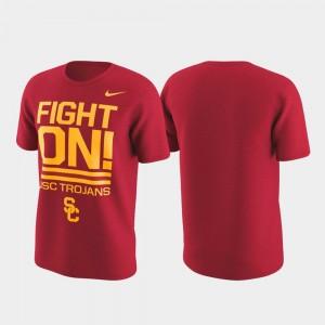USC Trojan Performance Cardinal Local Verbiage Men's College T-Shirt