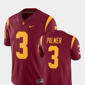 Men's Carson Palmer College Jersey Football Trojans Cardinal #3 Alumni Player