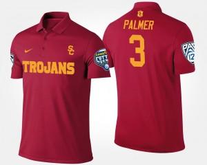 USC Trojan #3 Cardinal Pac-12 Conference Cotton Bowl Men Bowl Game Carson Palmer College Polo
