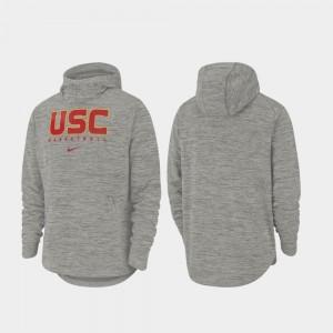 Men's USC Basketball Heathered Gray Spotlight College Hoodie