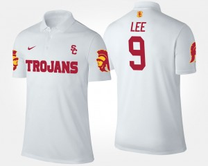 Marqise Lee College Polo White USC For Men's #9