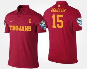 Nelson Agholor College Polo For Men's Cardinal Pac-12 Conference Cotton Bowl USC #15 Bowl Game