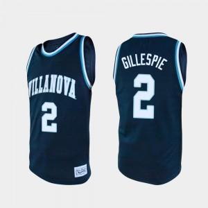 Wildcats Mens Navy Basketball Collin Gillespie College Jersey Alumni #2