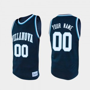 Mens Navy Alumni Basketball #00 College Custom Jerseys Wildcats