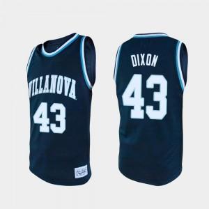 Eric Dixon College Jersey Navy Nova For Men's #43 Basketball Alumni