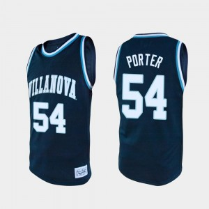 Basketball Villanova Wildcats #54 Howard Porter College Jersey Mens Alumni Navy