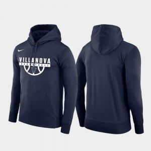 College Hoodie Navy Basketball Drop Circuit Pullover Wildcats Men