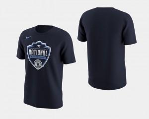 Villanova University College T-Shirt Basketball National Champions Navy 2018 Celebration II Men