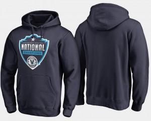 2018 Cut College Hoodie Navy Basketball National Champions Men's Nova