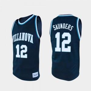 #12 For Men Tim Saunders College Jersey Alumni Basketball Nova Navy