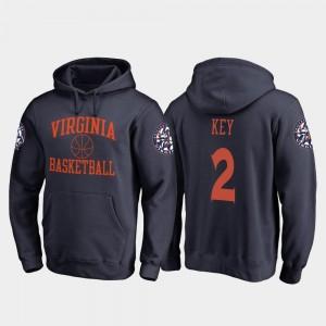 #2 Navy Basketball University of Virginia Braxton Key College Hoodie Mens In Bounds