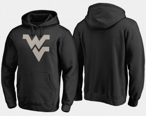 Men Camo Cloak College Hoodie Black Big & Tall West Virginia Mountaineers