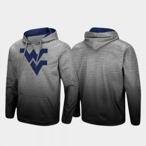 Pullover Sitwell Sublimated WV Heathered Gray For Men's College Hoodie