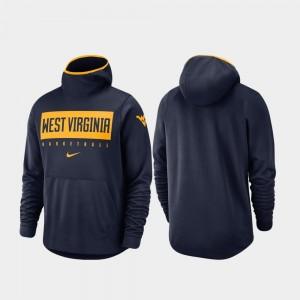 College Hoodie For Men's Basketball WV Spotlight Navy