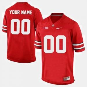 Red Men College Customized Jerseys Buckeyes #00 Football