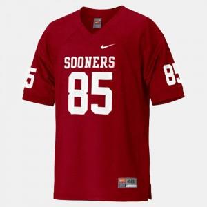 OU Sooners #85 Football Red Ryan Broyles College Jersey Kids