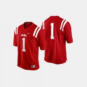 Rebels College Jersey Cardinal For Men Football #1